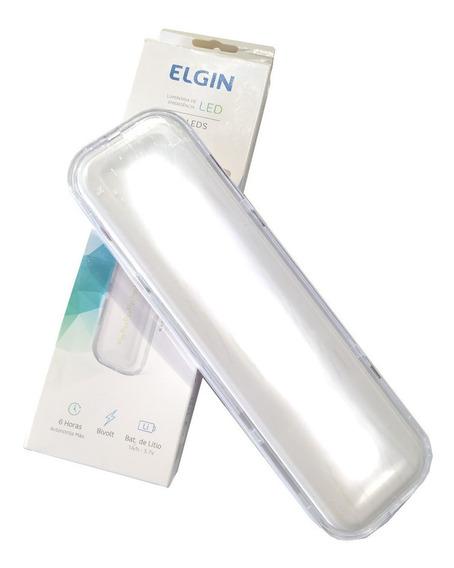 Luminária De Emergência Elgin 30 Leds 2w Bivolt Autonomia 6h