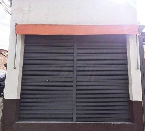 Salão Comercial Para Locação, Jaguaribe, Osasco. - Sl0015