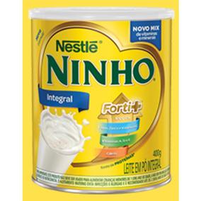 Leite Em Pó Ninho Lata 400g Nestlé