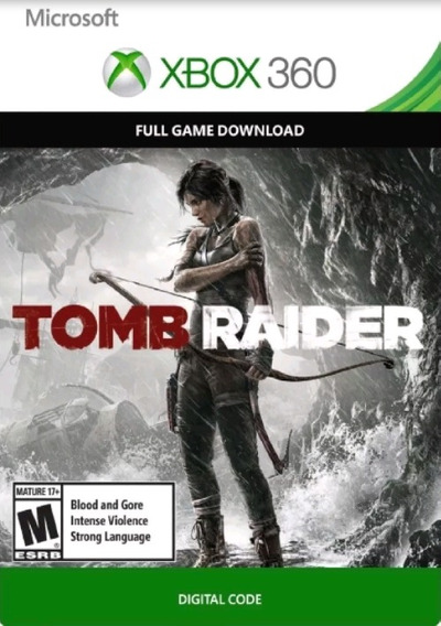 Tomb Raider P/ Xbox 360 Mídia Digital Original