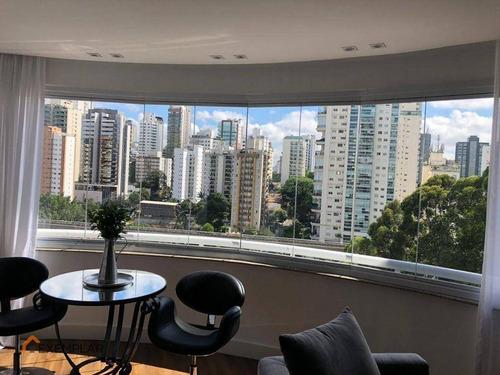 Imagem 1 de 23 de Apartamento Com 4 Dormitórios À Venda, 116 M² Por R$ 1.450.000,00 - Brooklin - São Paulo/sp - Ap1811