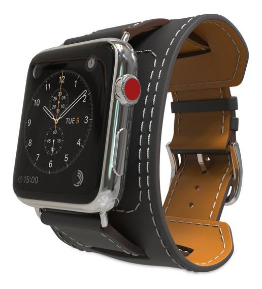 Correa De Cuero Legítimo Apple Watch 42mm/44 Mm 1 2 3 4