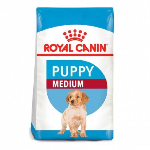 Imagen 1 de 1 de Comida Para Perros Royal Canin Medium Puppy 4 Kg