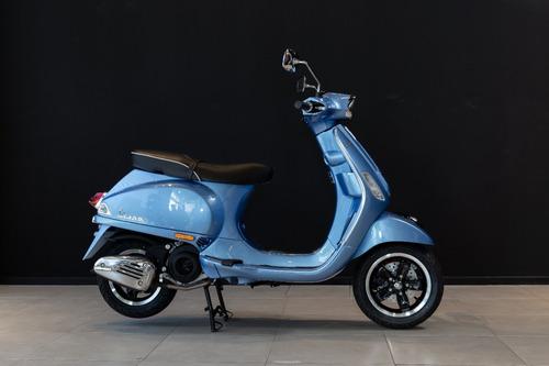 Scooter Vespa Sxl 150 Azul Cuotas En Pesos No Kymco