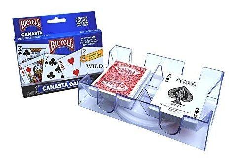 Juegos De Canasta Juegos De Cartas Con Bandeja 2 Juego De Po