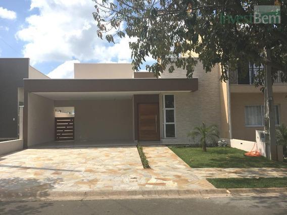 Casa Em Condomínio Em Valinhos, Com 3 Dormitórios À Venda, 180 M² Por R$ 790.000 - Condomínio Residencial Flor Da Serra - Valinhos/sp - Ca0462