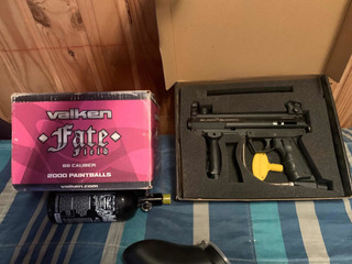 Pistola De Paintball Black