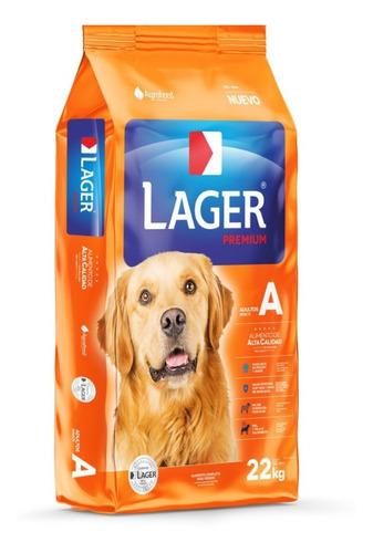 Imagen 1 de 1 de Alimento Lager Adulto Premium para perro adulto en bolsa de 22kg