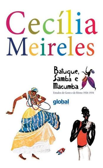 Batuque, Samba E Macumba - Estudos De Gesto E De Ritmo 192