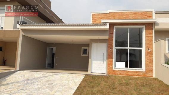 Casa Com 3 Dormitórios À Venda, 180 M² Por R$ 760.000 - Condomínio Residencial Flor Da Serra - Valinhos/sp - Ca0626