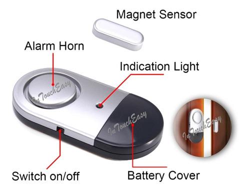 Sensor Inalámbrico Puerta O Ventana Alarma Magnética