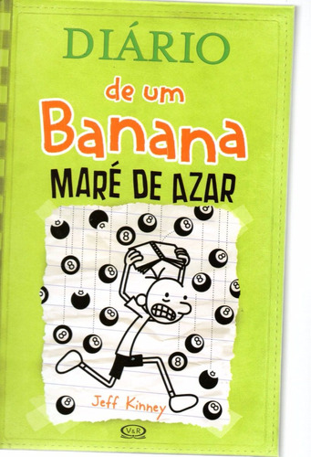 Imagem 1 de 1 de Diario De Um Banana - Mare De Azar - Bonellihq Cx295 V20