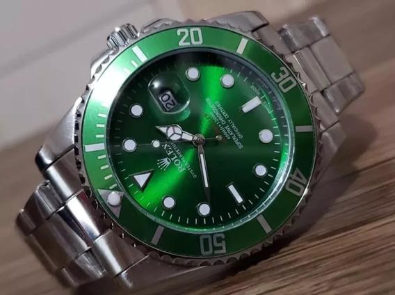 Relógio D15 Submariner Masculino Multicores Pronta Entrega