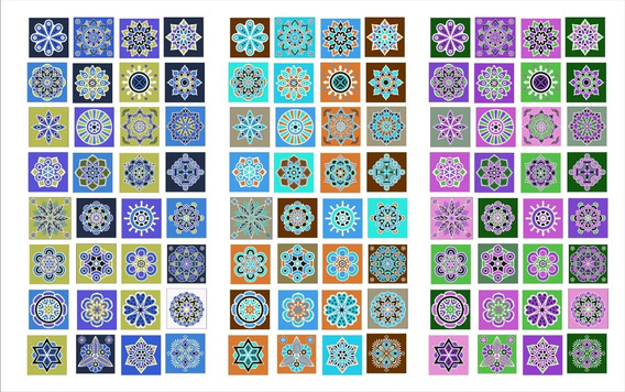 Vinilos Azulejos Cocina Baño Coloridos Autoadhesivos 20x20