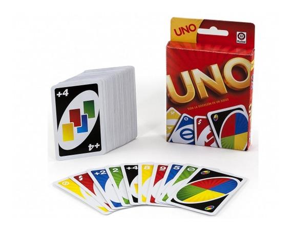 Mattel Games Juego De Cartas Uno Int 7600 Original Ruibal
