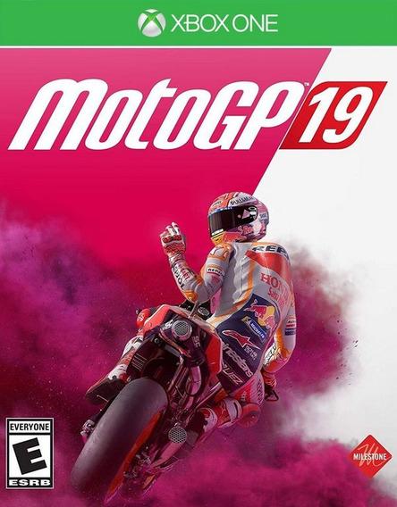 Moto Gp19 Xbox One Mídia Digital + 1 Jogo