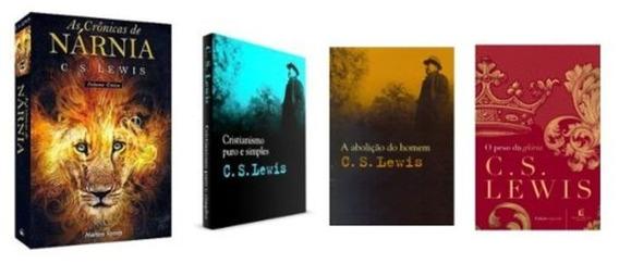 Livros De C. S. Lewis A Abolição Do Homem + 3 + Frete Grátis