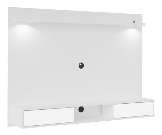 Mueble Para Tv Panel Hasta 55 Bertolini 3646- Blanco