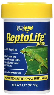 Reptolife Suplemento Minerales Reptiles En Polvo