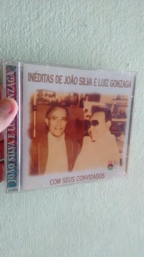 Cd João Silva-inéditas De João Silva E Luiz Gonzaga