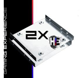 Kit 2 Suportes Para Hd Ssd Para Desktop De 2,5 Para 3,5