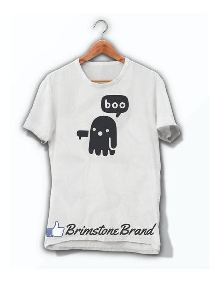Playera Fantasma Boo 2 Halloween Hombre O Mujer