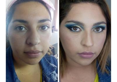 Maquillaje Social,novias,quinceañeras,book De Fotos Y Mas