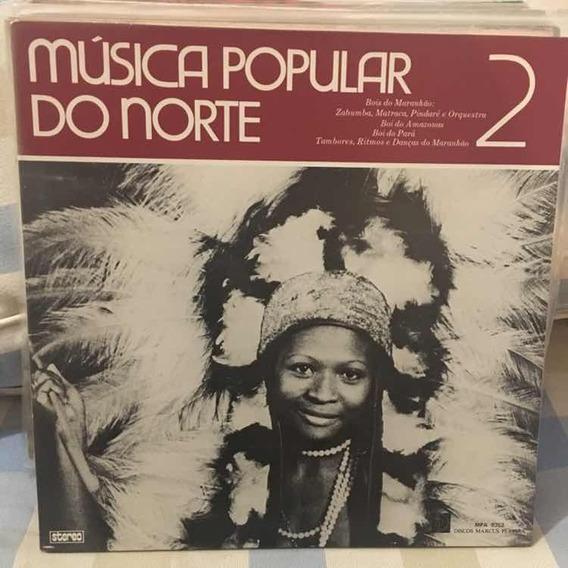 Lp Música Popular Do Norte 2 Marcus Pereira Capa Dupla