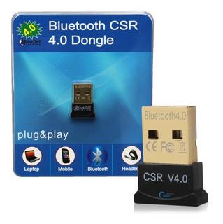 Adaptador Usb Inalámbrico Bluetooth 4.0 10m Alcance Febo