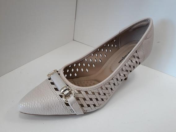 Zapato Stilleto Modare Punta Fina Taco 7cm Eco Cuero