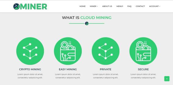 Sistema De Mineração De Bitcoin Com Admin