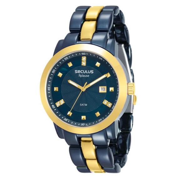 Relógio Seculus Feminino Aplause - 20422lpsvla4