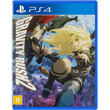 Gravity Rush 2 Ps4 Fisica Legendado Pt Br