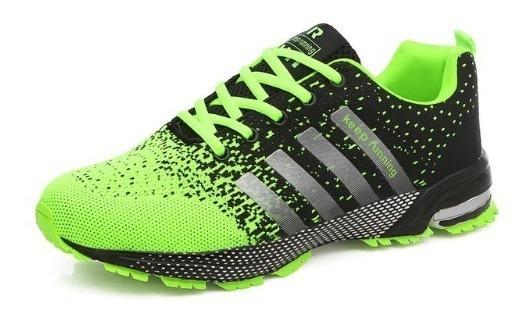 Tênis Masculino Corrida Caminhada Esporte Simple Keep Runing
