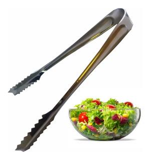 Tenaza Pinza Volteador Para Ingredientes Verduras