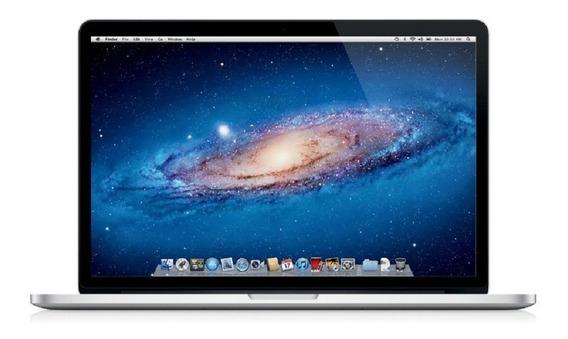 Macbook Pro 2012 Retina A1398 Core I7 8gb Ram 256gb Vitrine