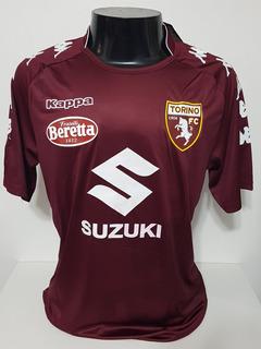 Camisa Torino Home 17-18 Ljajic 10 Patch Lega Calcio