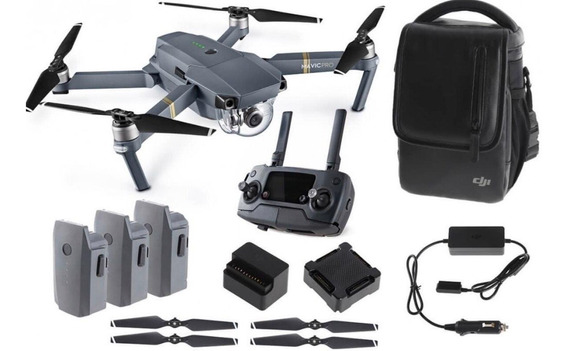 Drone Dji Mavic Pro Combo Profissional