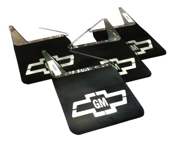 Kit Para Barro C10 D20 Silverado Lameiro Borracha 4 Peças