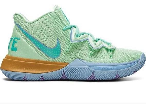 Tenis Nike Kyrie 5 Bob Esponja Calamardo