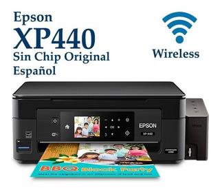 Impresora Epson Xp440 Wifi +sistema Continuo Tipo Original