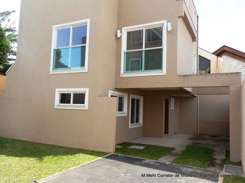 Sobrado Em Condomínio Com 3 Dormitórios À Venda Com 147m² Por R$ 600.000,00 No Bairro Boa Vista - Curitiba / Pr - M2bv-sfdv3