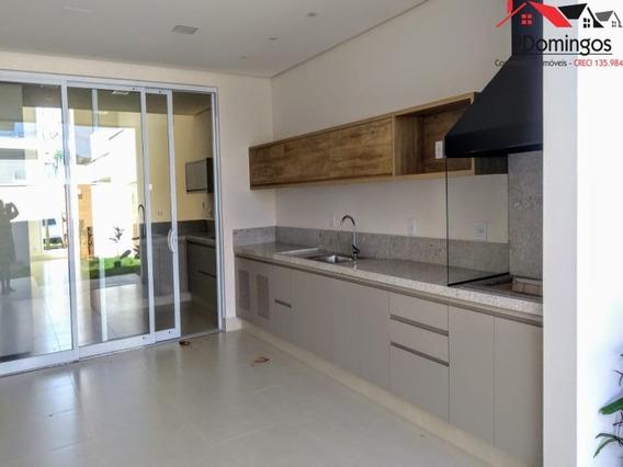 Casa Térrea Rica Em Detalhes Á Venda No Reserva Real Resort, Em Paulínia Sp - Ca00829 - 34896988