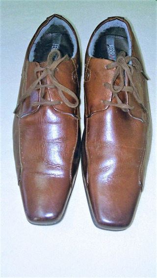 375 - Sapato Social Ferracini, Marrom