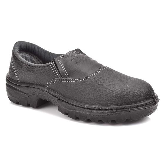 Sapato Segurança Unisex Cartom R16 Pu Monodensidade Elástico
