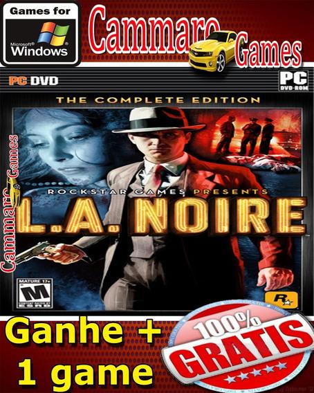 L.a. Noire: The Complete Edition + 3 Games