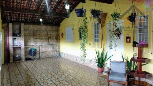 Casa Térrea Com 3 Dormitórios E Edícula À Venda, 188 M² Por R$ 329.900 - Cidade Aracilia - Guarulhos/sp - Ca0118