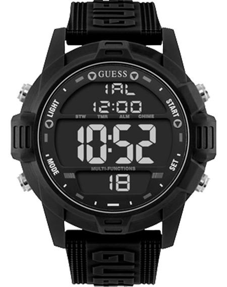 Relógio Masculino Guess 92768g0gsnv1 Preto
