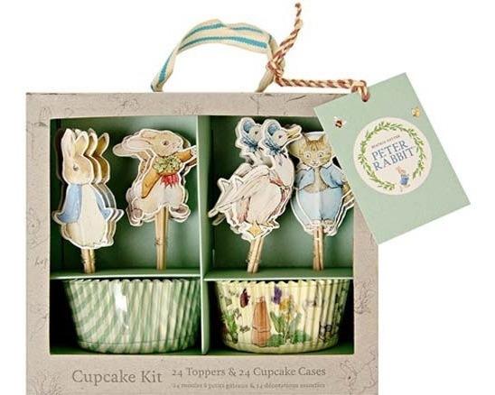Capacillos Para Cupcake Peter Rabbit Marca Meri Meri Party