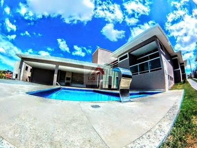Maravilhosa Casa De Luxo, Em Condomínio Muito Bem Localizado - 3200
